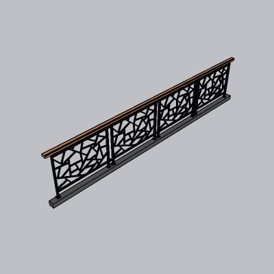 铁艺栏杆  (9)