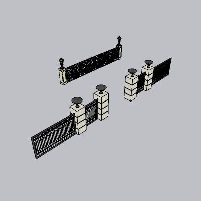 铁艺栏杆  (98)