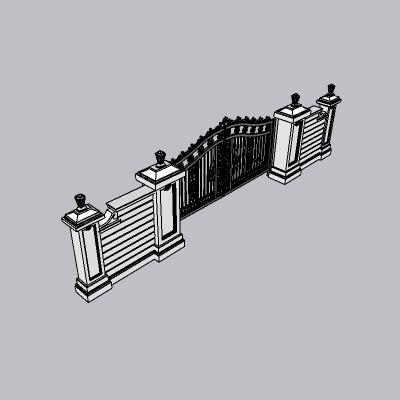 铁艺栏杆  (99)