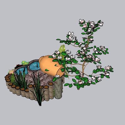 喷泉流水小品 (102)