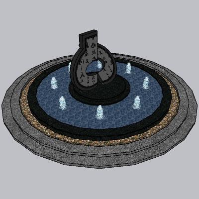 喷泉流水小品 (11)