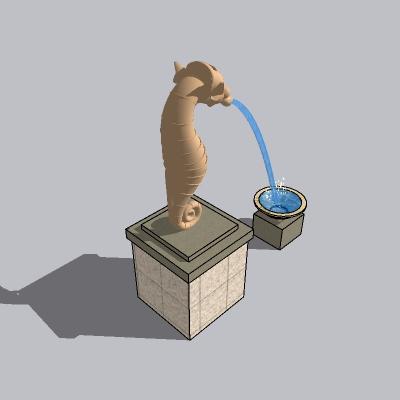 喷泉流水小品 (12)