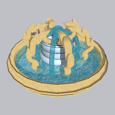 喷泉流水小品 (15)