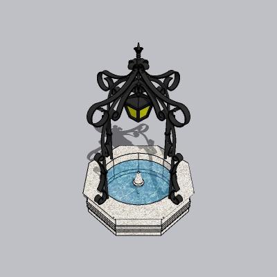 喷泉流水小品 (19)