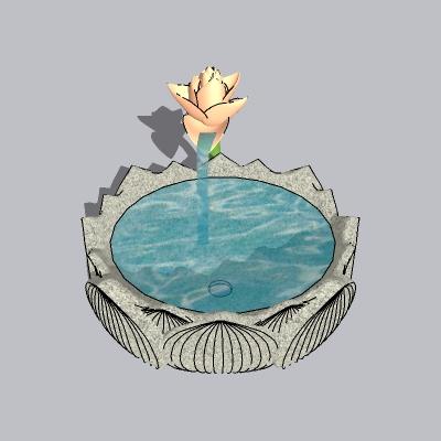 喷泉流水小品 (35)