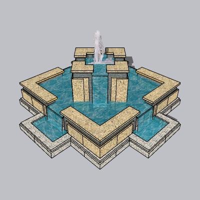 喷泉流水小品 (41)