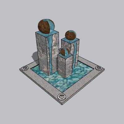 喷泉流水小品 (43)