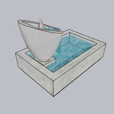 喷泉流水小品 (46)
