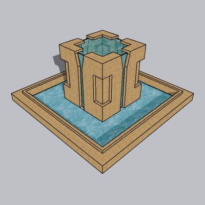 喷泉流水小品 (47)