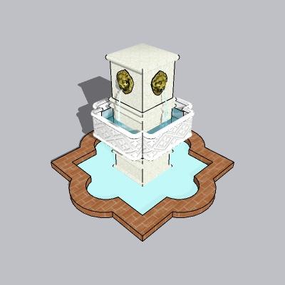 喷泉流水小品 (64)