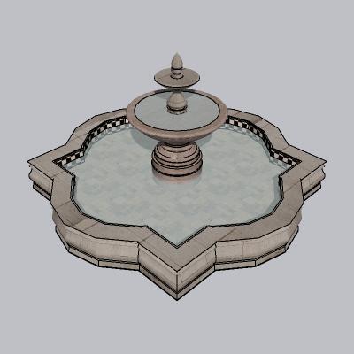 喷泉流水小品 (66)