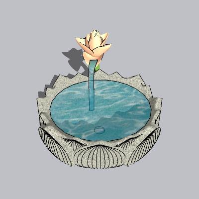喷泉流水小品 (68)
