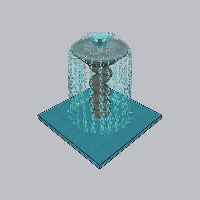喷泉流水小品 (69)