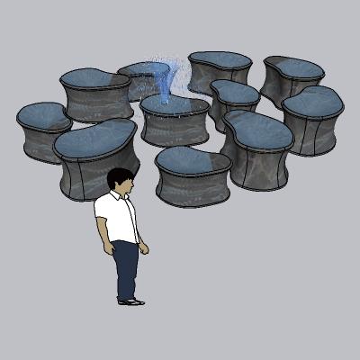 喷泉流水小品 (71)
