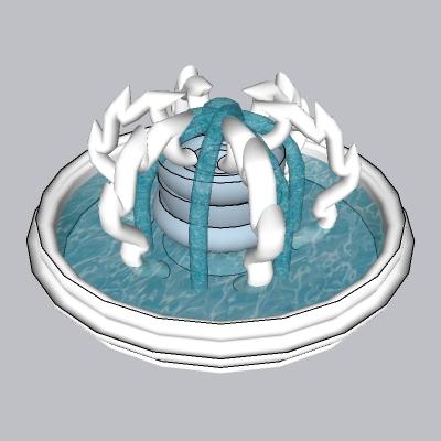喷泉流水小品 (77)