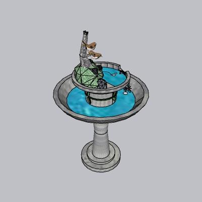 喷泉流水小品 (78)