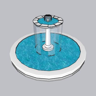 喷泉流水小品 (79)