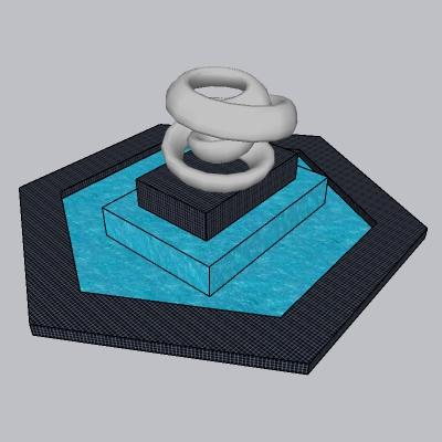 喷泉流水小品 (80)