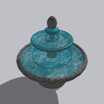 喷泉流水小品 (81)