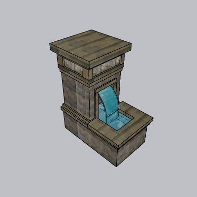 喷泉流水小品 (84)