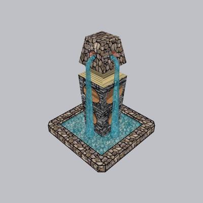 喷泉流水小品 (86)