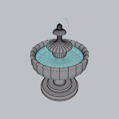 喷泉流水小品 (87)