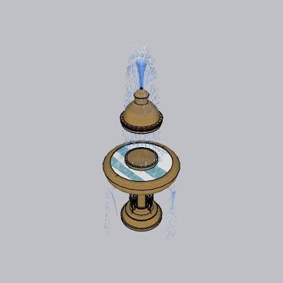 喷泉流水小品 (90)