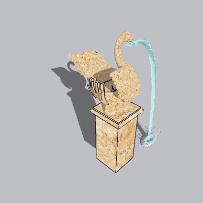 喷泉流水小品 (93)