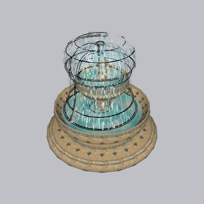 喷泉流水小品 (95)