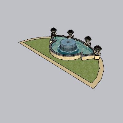 喷泉瀑布 (14)