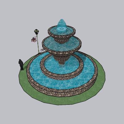 喷泉瀑布 (143)