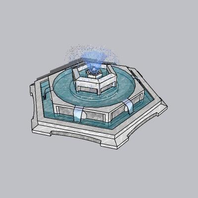 喷泉瀑布 (146)