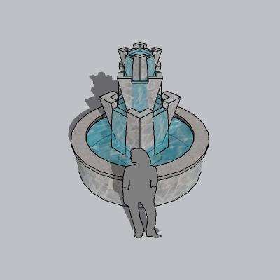 喷泉瀑布 (178)