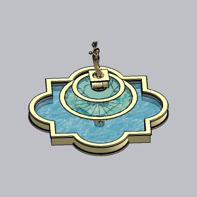 喷泉瀑布 (2)