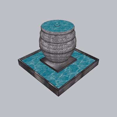喷泉瀑布 (201)
