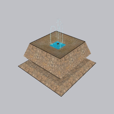 喷泉瀑布 (228)