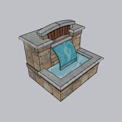 喷泉瀑布 (230)