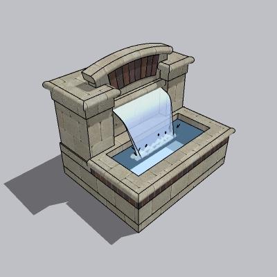 喷泉瀑布 (231)