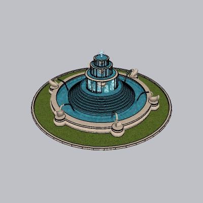 喷泉瀑布 (24)