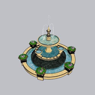 喷泉瀑布 (255)