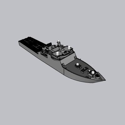 指挥船战舰
