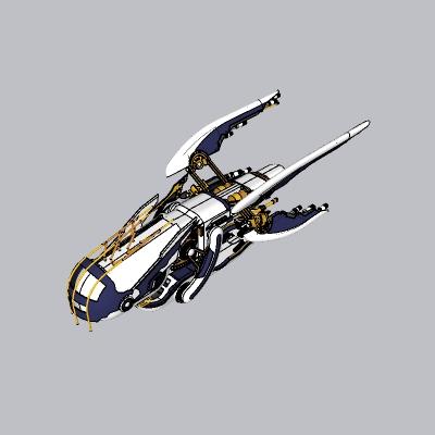 航空运输船天空飞船