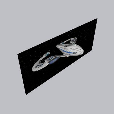 太空飞船的SKP模型素材