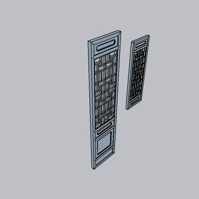 中式 门35