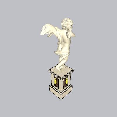 欧式人物雕像 (15)