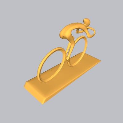 自行车雕塑 (2)