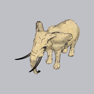 动物  大象 (1)
