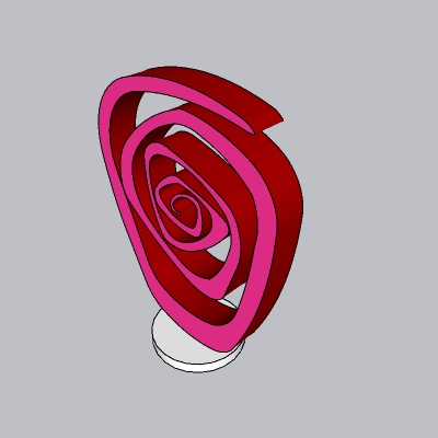抽象雕塑 (111)