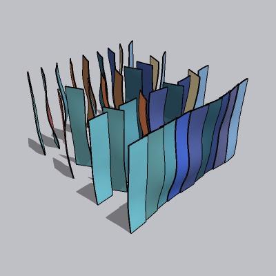 抽象雕塑 (127)