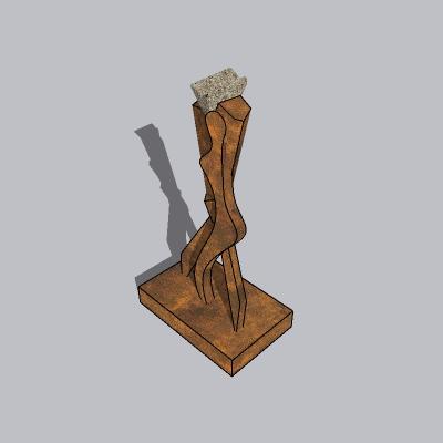 抽象雕塑 (128)